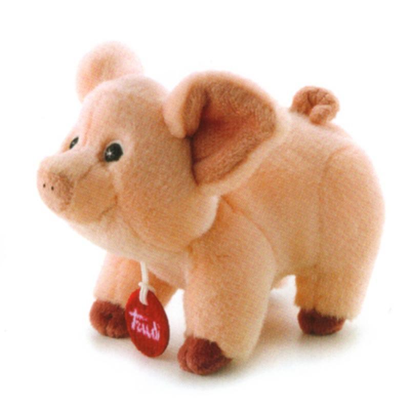 Trudino Plüsch Schwein 15 cm in Geschenbox. Trudi