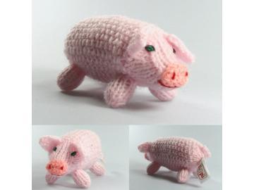 Stricktier Schwein gestrickt Bolivien und Peru