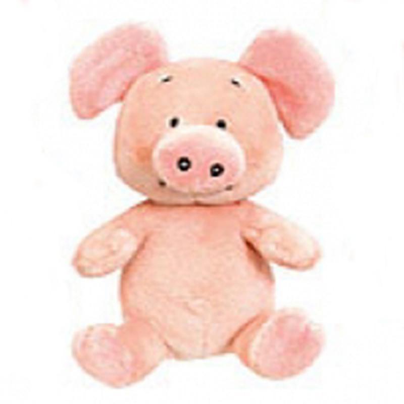 Wibbly Pig. Plüsch. 15 cm. Original aus GB!