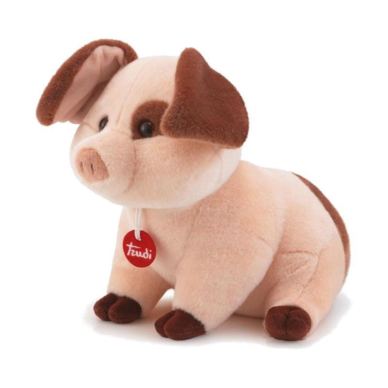 Schwein Manlio Trudi  H 23 cm Plüsch