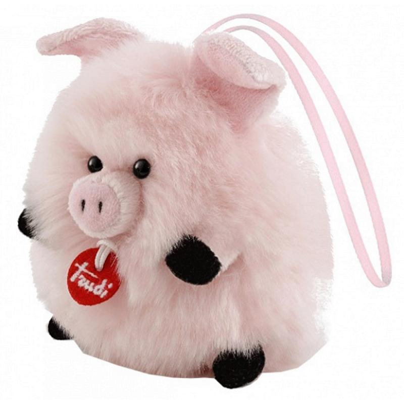 Trudi Anhänger Maiale XXS Schwein Plüsch