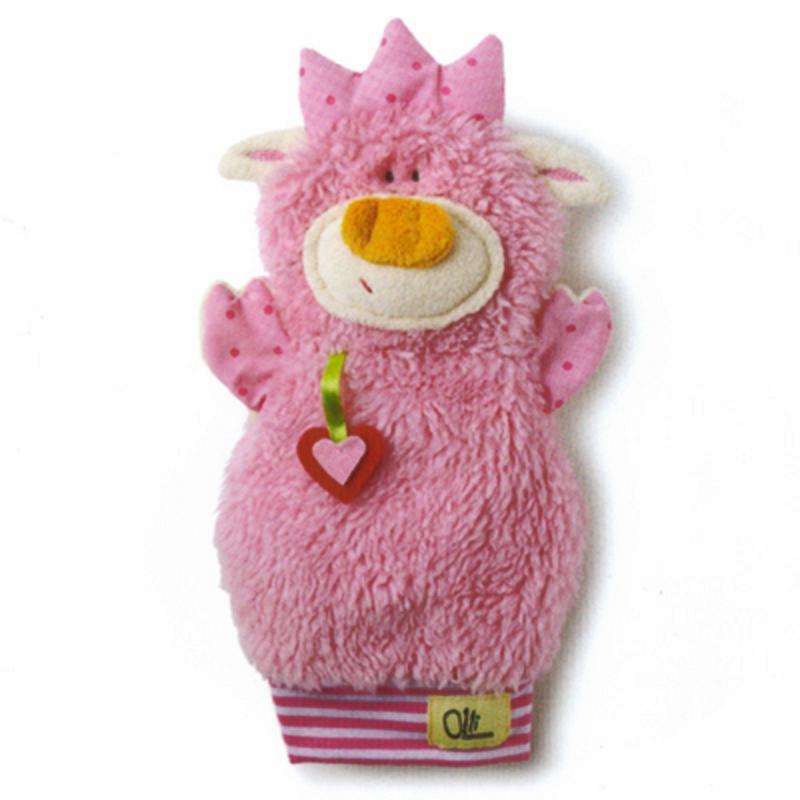 Handpuppe Schweinchen 30 cm in Geschenkbox Trudi