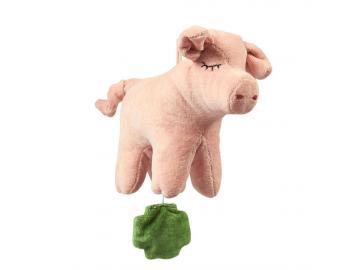 Baby-Spieluhr Schwein SENGER Tierpuppen