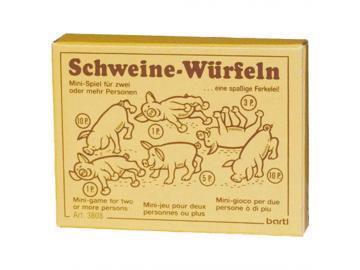 Schweine-Würfeln Würfelspiel mal ganz anders!