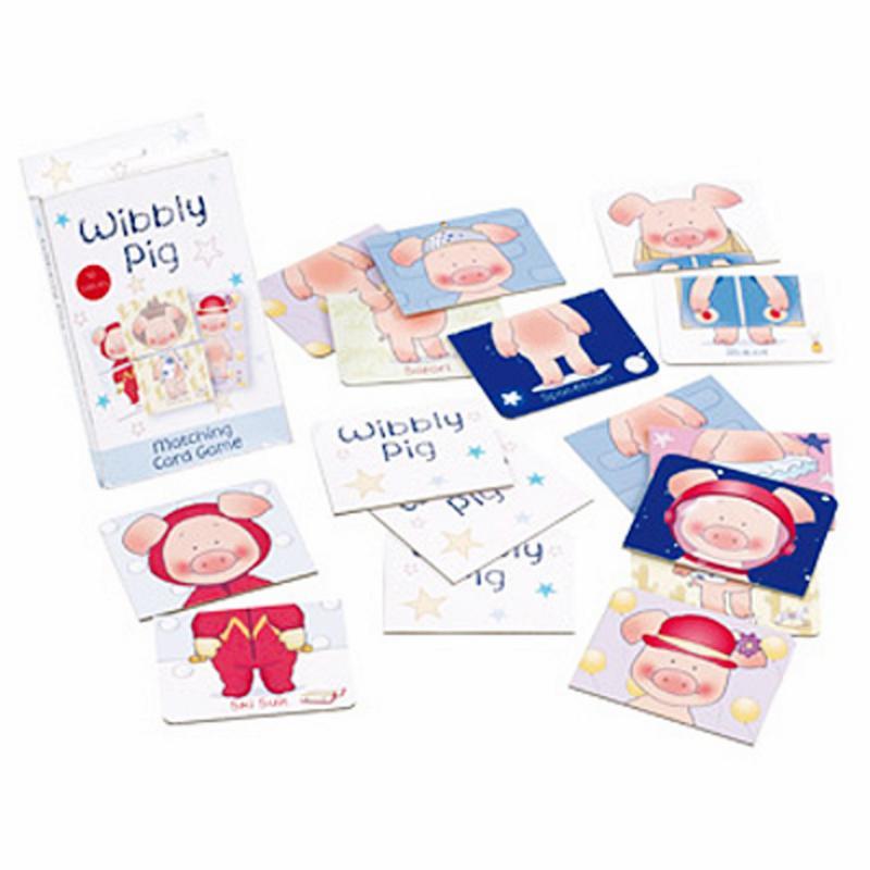 Wibbly Pig Kartenspiel. Original aus GB!