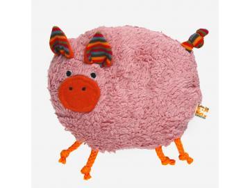 Kirschkern-Schweinchen Rosi ökologisches Wärmekissen LANA natural wear
