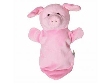 Handpuppe Schweinchen rosa Baby