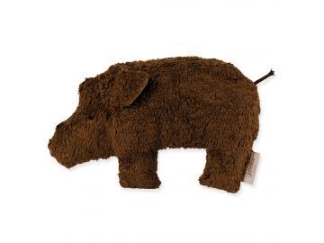 Schlaf- und Kuschelkissen Trappi das Wildschwein 47 x 30 cm