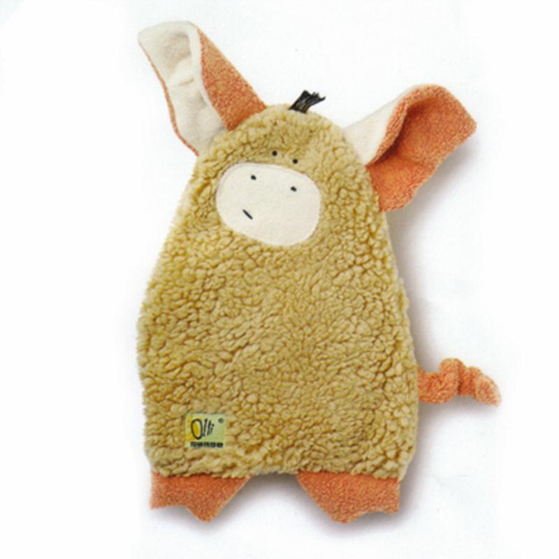 Wärmekissen Tier Schwein braun 30 cm .Trudi . Olli