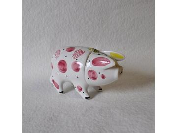 Sussex Pig Keramik Dose pink klein - Original englische Rye-Keramik