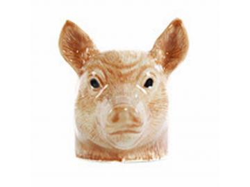 Eierbecher Schweine Tamworth 2 Stück feine Keramik Quail GB