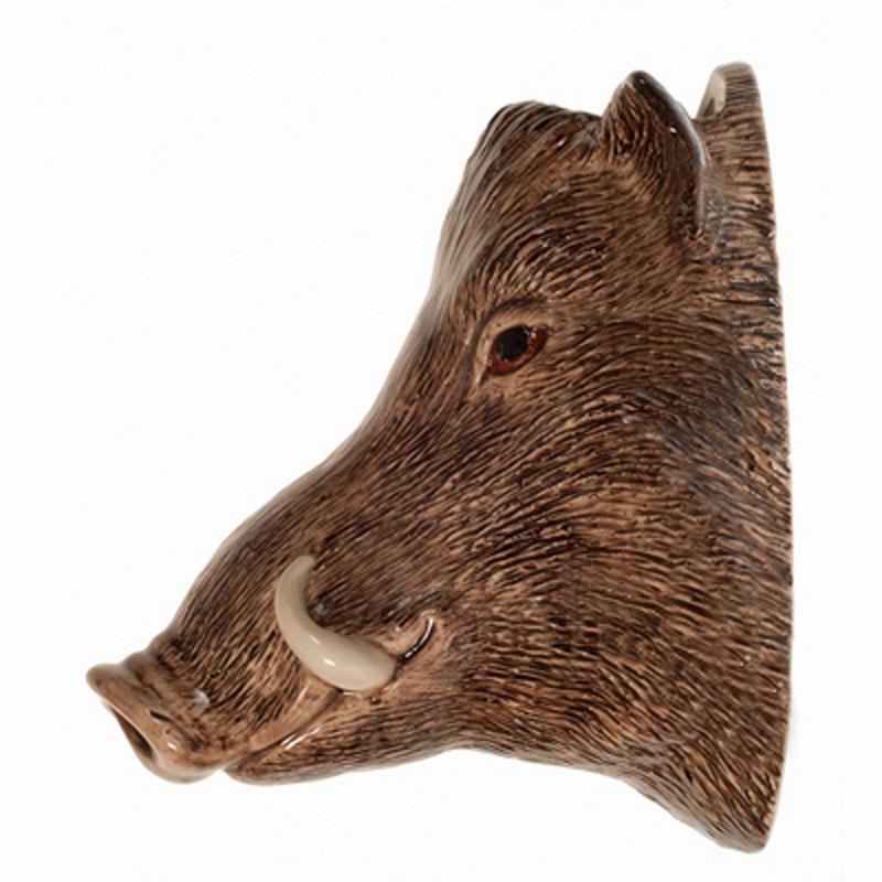 Wandvase Wildschwein Feine Keramik Quail GB