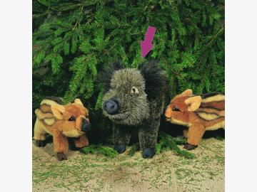 Wildschwein Berta 48 cm