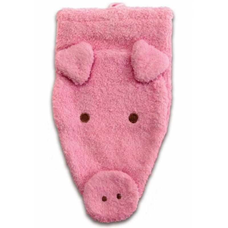 Waschhandschuh Schwein groß BIO