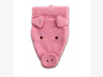 Waschhandschuh Schwein klein BIO