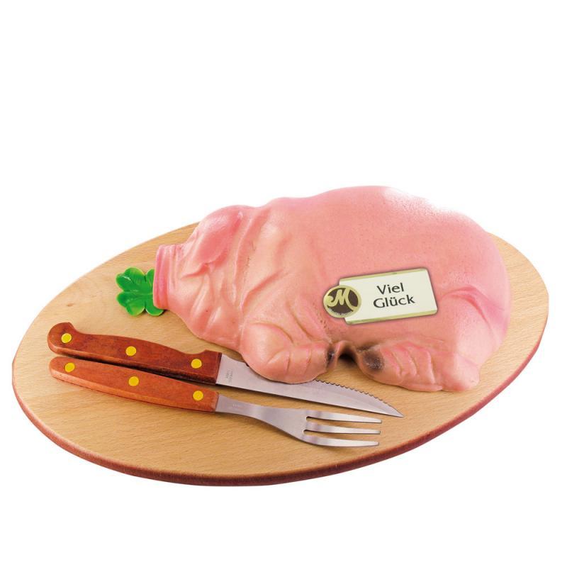 Schlachtschwein 1 kg !!!! 23cm. Edelmarzipan. Odenwälder Marzipan