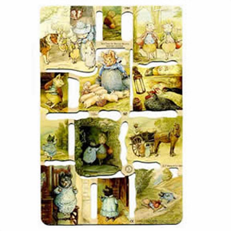 Poesiebilder Beatrix Potter III 1 Bogen