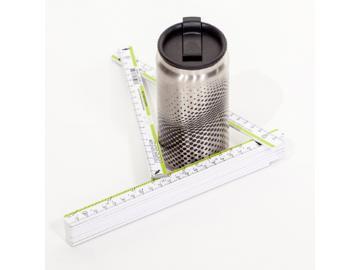 KNAKKE Zollstock mit dem man den Durchmesser messen kann . Premiumqualität