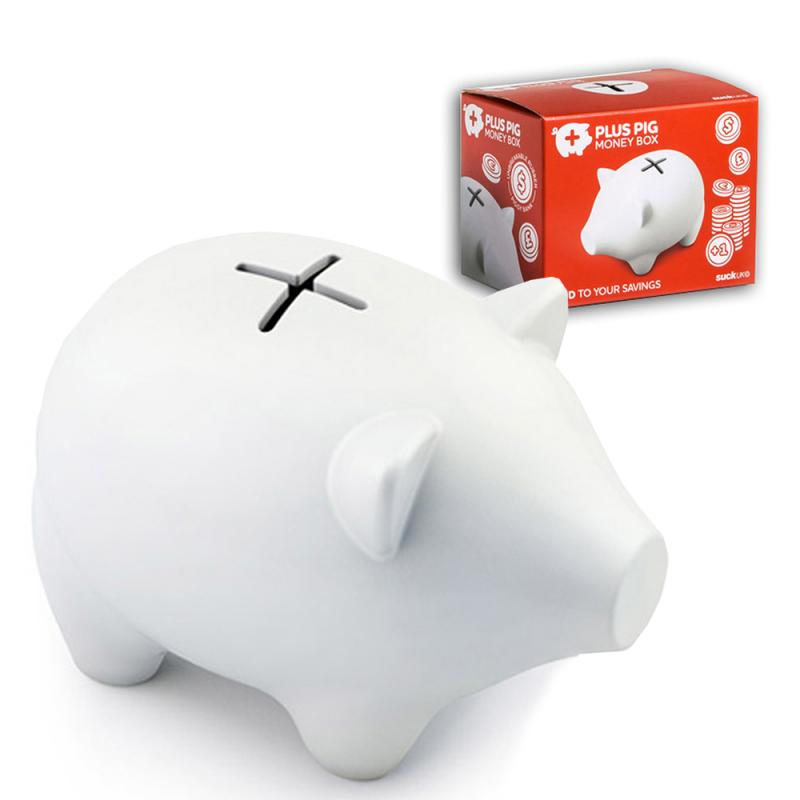 Plus Pig Money Box . Sparschwein . Copilcus . Kunststoff . SALE