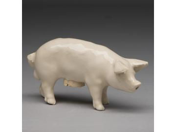 Salzstreuer Schwein. Country life - Landleben. Keramik. Belinda Berger