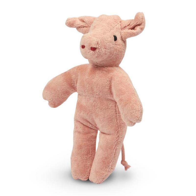 Tierpuppen Baby  Schwein, klein Senger