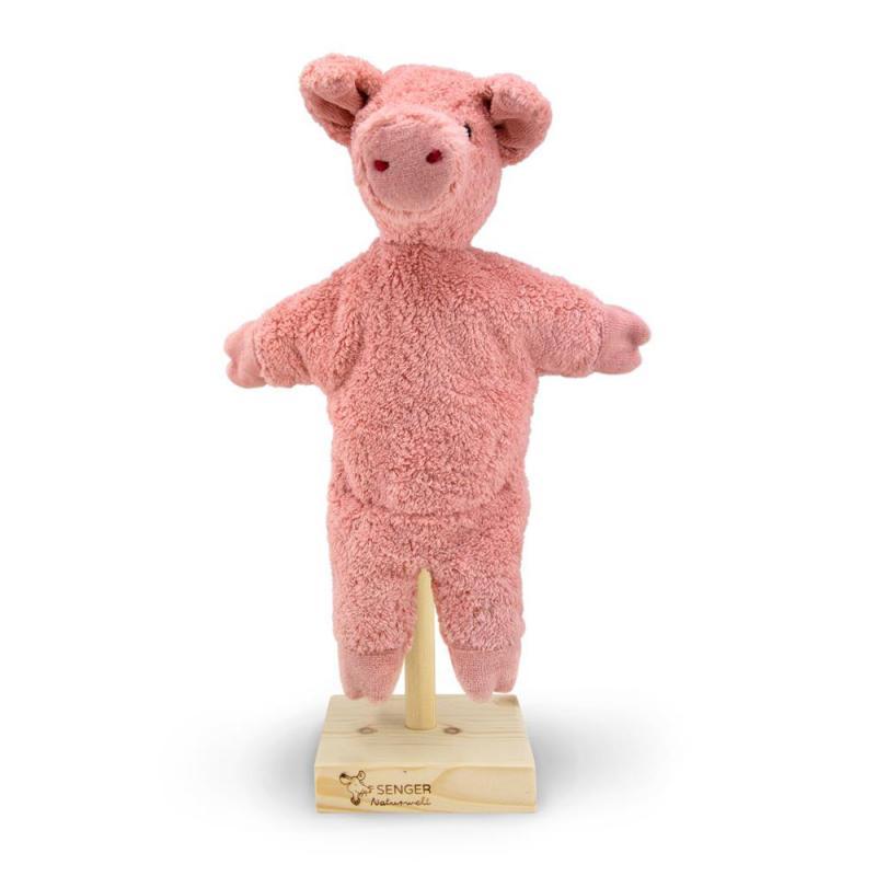 Handpuppe Schwein Senger