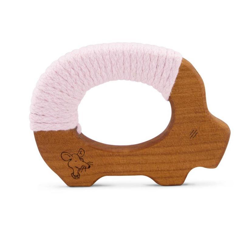 Holzfädeltier Schwein Senger