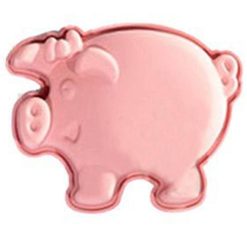 Silikonbackform Schwein