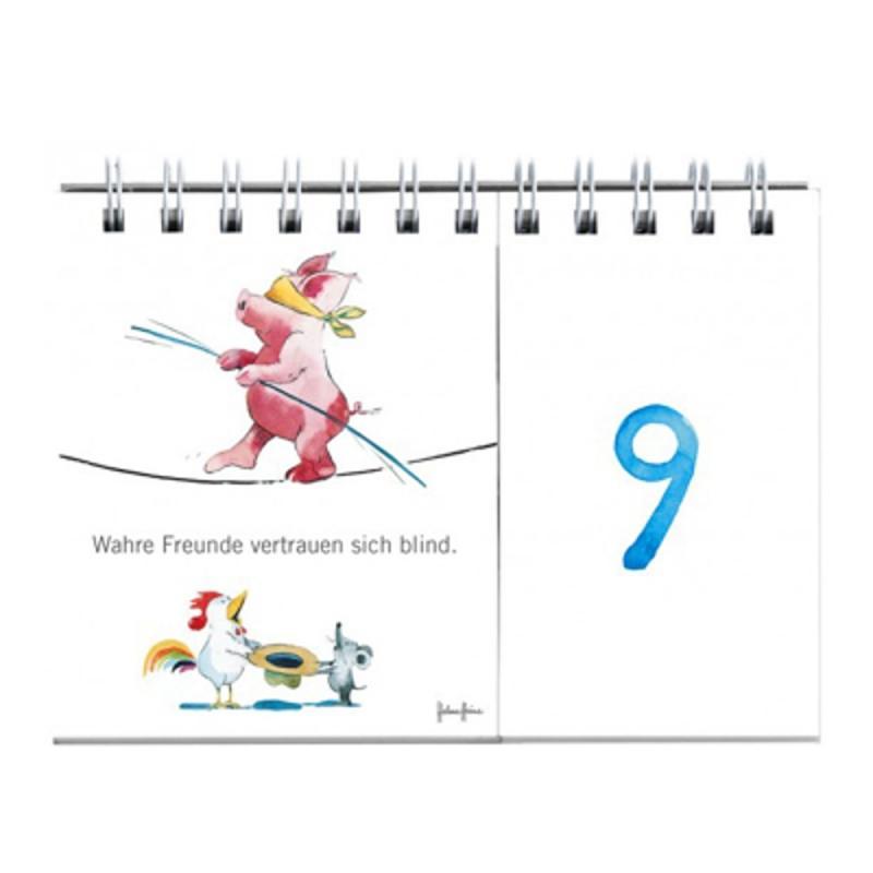 Geschenkbuch Meine Freunde . Tag für Tag. Helme Heine Mullewapp Jahresunabhängig
