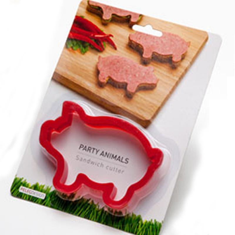 Ausstechform Party Animal Schwein Keks Sandwich
