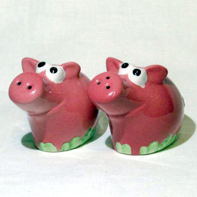 Salz- & Pfefferstreuer-Set Keramik gebraucht, aber in gutem Zustand EINZELSTÜCKE