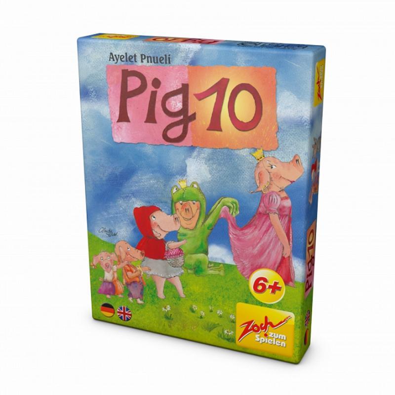 PIG 10 ... Das Spiel mit Schwein Mathematikspiel Kartenspiel. ab 6 J.