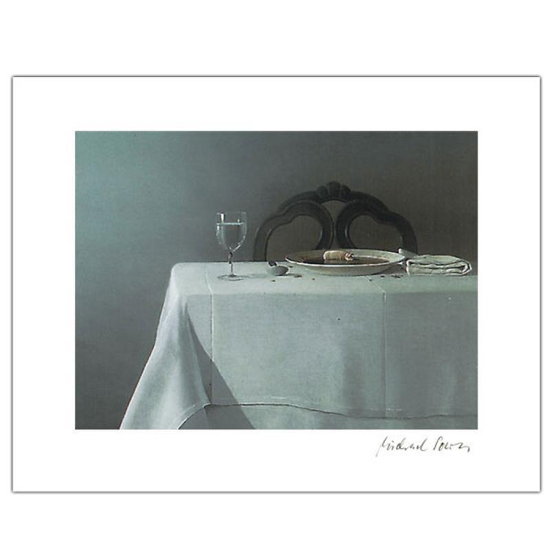 Irisdruck Suppenschwein . Poster/Kunstdruck . Michael Sowa