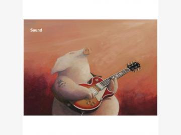 Postkarte Saund . P. Gut