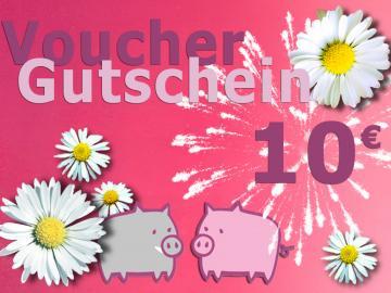 Warengutschein Schwein . im Wert von 10 EURO