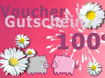 Warengutschein Schwein . im Wert von 100 EURO
