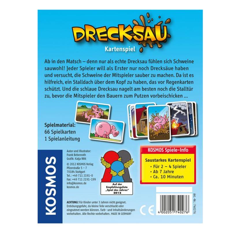 Drecksau. Kartenspiel. ab 7 J.