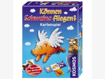Können Schweine fliegen? Das Kartenspiel ab 5 J.