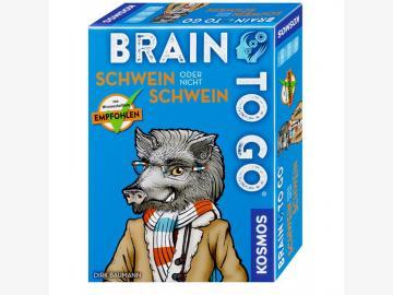 BRAIN TO GO® – Schwein oder nicht Schwein Kartenspiel ab 8 J.