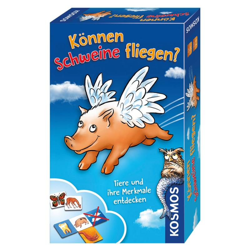 Können Schweine fliegen? Das Kartenspiel Miniausgabe ab 5 J.