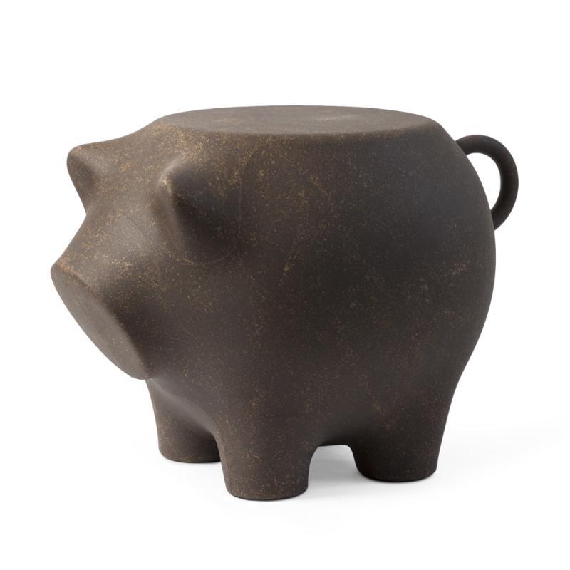 Sidepig - Das Beistellschwein . cork . Tisch/Hocker