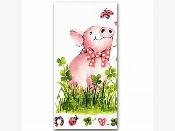 Servietten Lucky Pigs 20 Stück