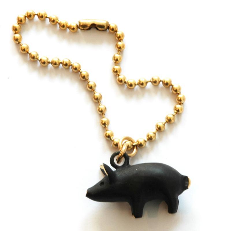 Schwein Schlüsselanhängeranhänger Walter Bosse
