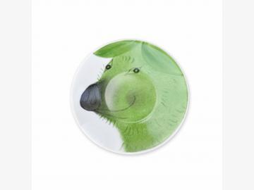Clever Piggy Teller Schwein 11 cm Porzellan handbemalt