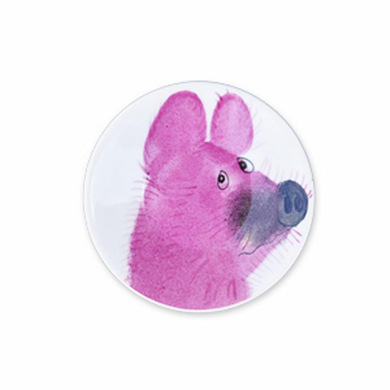 Simply Piggy Teller Schwein 11 cm Porzellan handbemalt