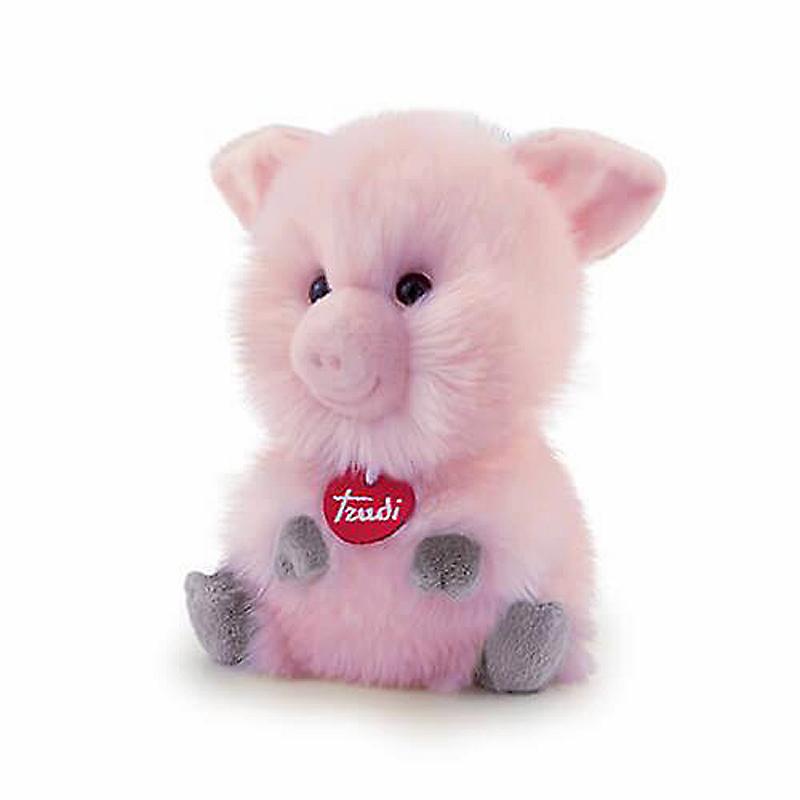 Schwein Fluffi Maiale H 10 cm Plüsch