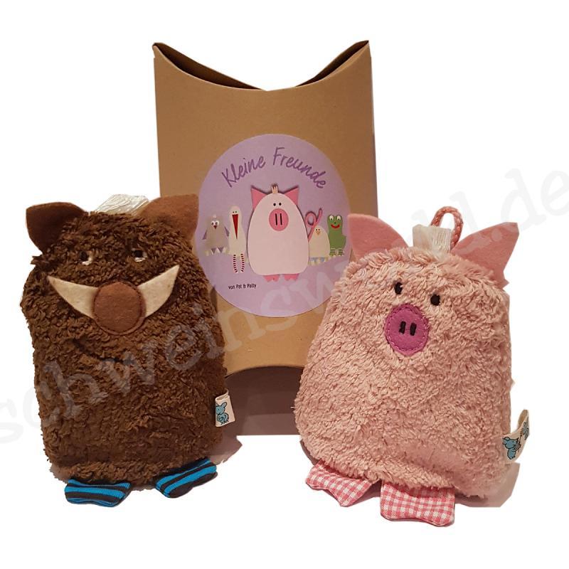 Minikissen Wildschweinchen mit Kernfüllungen Pat & Patty