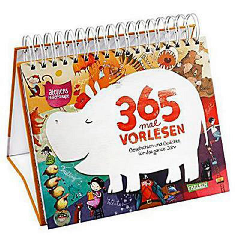 365 mal Vorlesen. Geschichten auch mit Schwein. 4-6 J.