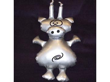 Alien-Schwein Lovlox. aus den unendlichen Weiten des Weltraums. Stofftier. 35cm