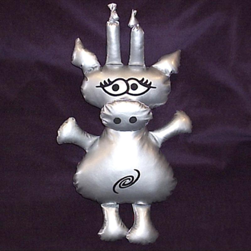 Alien-Schwein Roxalia. aus den unendlichen Weiten des Weltraums. Stofftier. 35cm